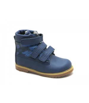 Ортопедичні профілактичні зимові черевики з жорстким задником ECOBY 204Bmix (23-31р.)