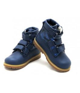 Ортопедические зимние ботинки с жестким задником ECOBY 204Bmix (23-31р.)