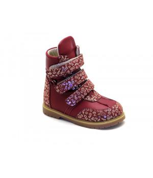 Ортопедические зимние ботинки с жестким задником ECOBY 211B (23-31р.)