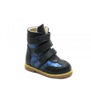 Ортопедические зимние ботинки с жестким задником ECOBY 211DB (23-31р.)
