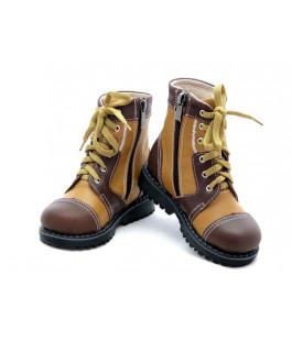 Ортопедические демисезонные ботинки с жестким задником ECOBY 205CBR (23-31р.)