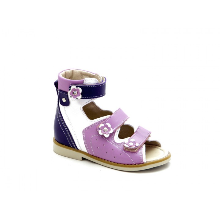 ECOBY детская ортопедическая обувь - Детские ортопедические сандалии на девочки ЭКОБИ 024WV