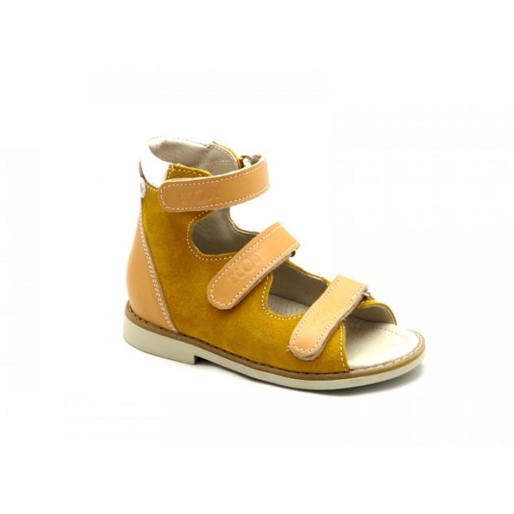 ECOBY дитяче ортопедичне взуття - Купити дитячі ортопедичні шкіряні сандалі  ЕКОБІ 002CR 064446471a31b