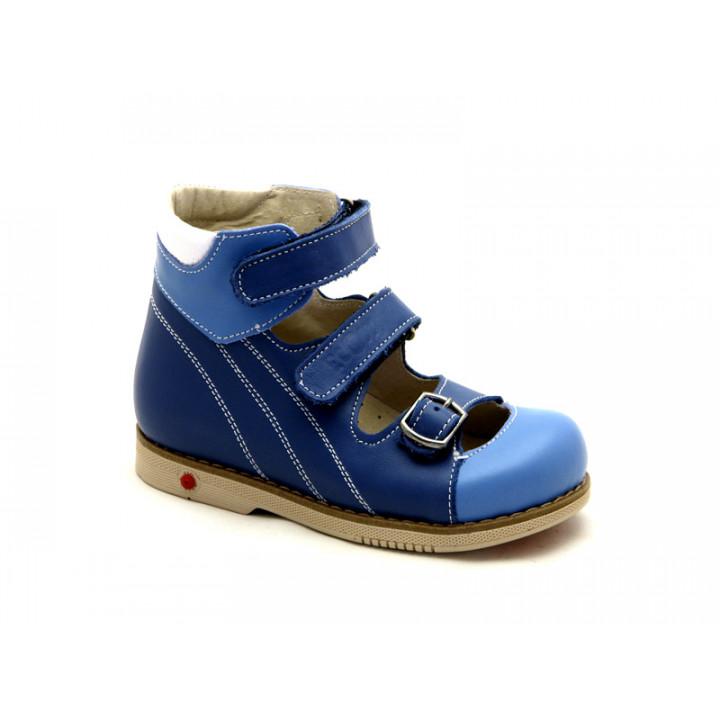 ECOBY дитяче ортопедичне взуття - Купити дитячі ортопедичні шкіряні туфлі  для хлопчиків ЕКОБІ 108B dadbacdd594ff
