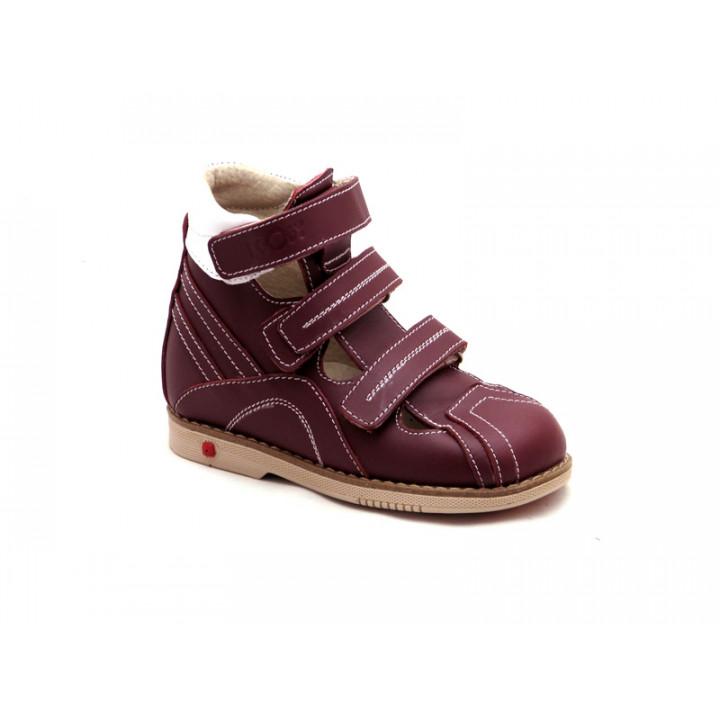ECOBY дитяче ортопедичне взуття - Купити дитячі ортопедичні шкіряні туфлі  для дівчинки ЕКОБІ 115BR 8dd2134c984ec