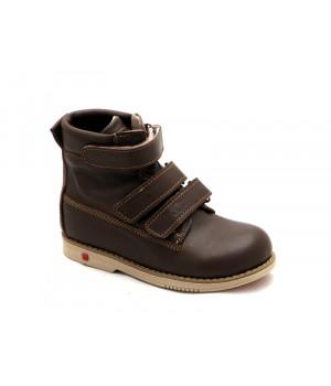 16a850be7e7ac1 Ортопедичні профілактичні демісезонні черевики з жорстким задником ECOBY  204BR (23-31р.)