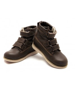 Ортопедические демисезонные ботинки с жестким задником ECOBY 204BR (23-31р.)