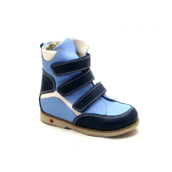 ECOBY дитяче ортопедичне взуття - Купити дитячі ортопедичні шкіряні  демісезонні черевики для хлопчика ЕКОБІ 210BB 3dac9ac6a3bdf