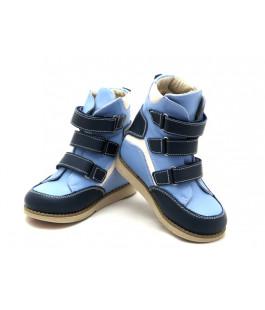 Ортопедические демисезонные ботинки с жестким задником ECOBY 210BB (23-31р.)