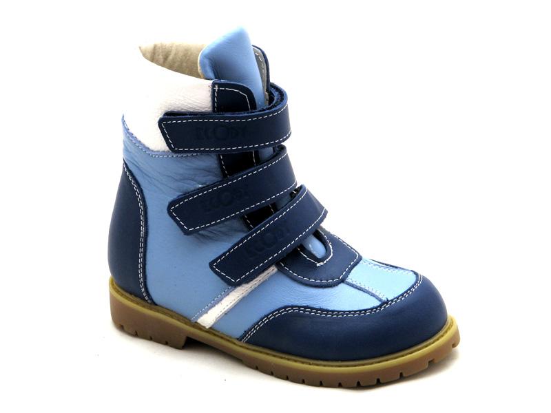 ECOBY дитяче ортопедичне взуття - Купити дитячі ортопедичні шкіряні зимові  черевики для хлопчика ЕКОБІ 211BB 790069ce8f0ee