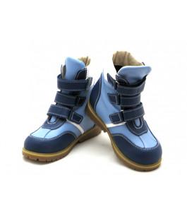 Ортопедические зимние ботинки с жестким задником ECOBY 211BB (23-31р.)
