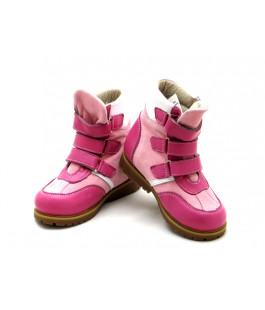 Ортопедические зимние ботинки с жестким задником ECOBY 211LP (23-31р.)