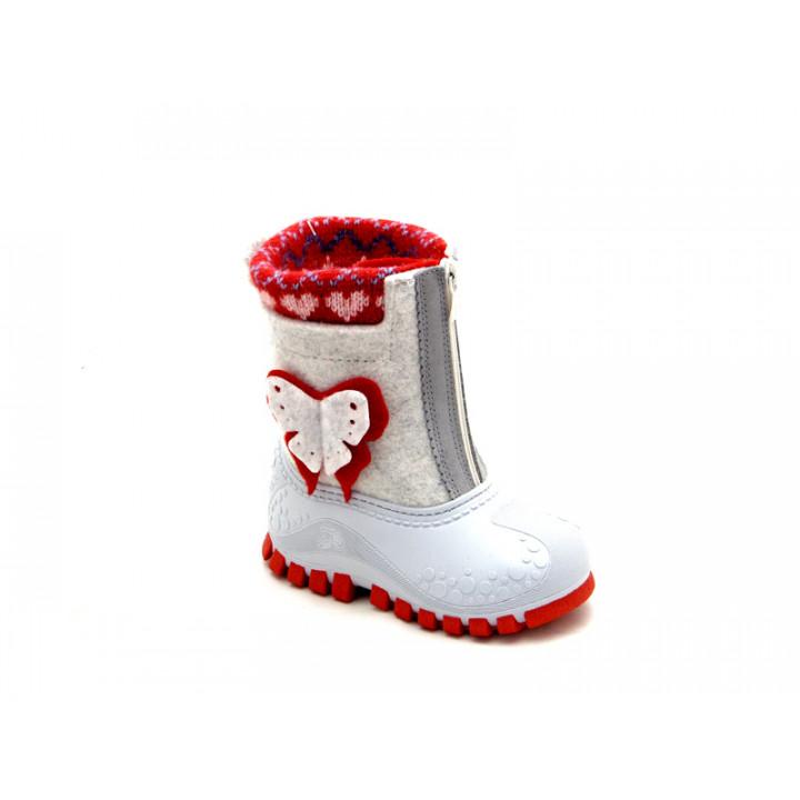 Обувь детская Капика - Валенки-калоши с подкладкой из натуральной шерсти арт. 310825