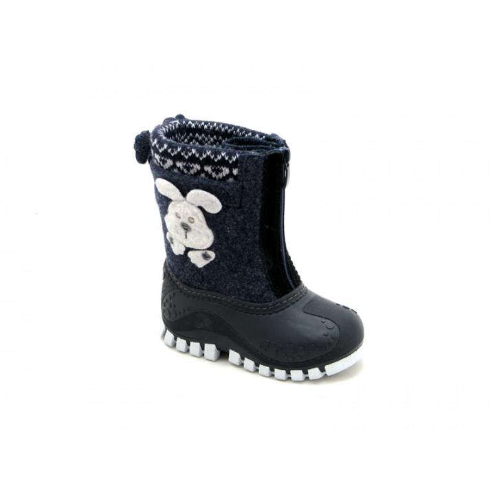 Обувь детская Капика - Валенки-калоши с подкладкой из натуральной шерсти арт. 311819