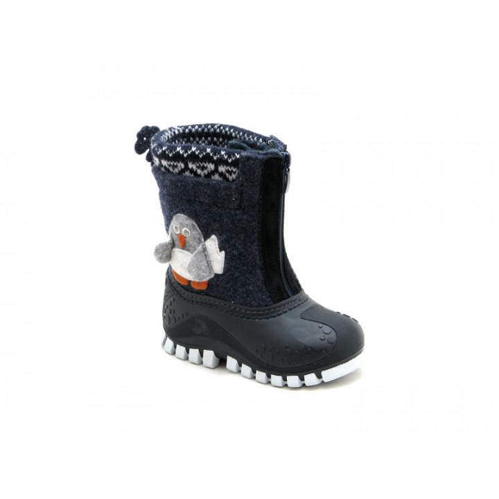 Обувь детская Капика - Валенки-калоши с подкладкой из натуральной шерсти арт. 311855