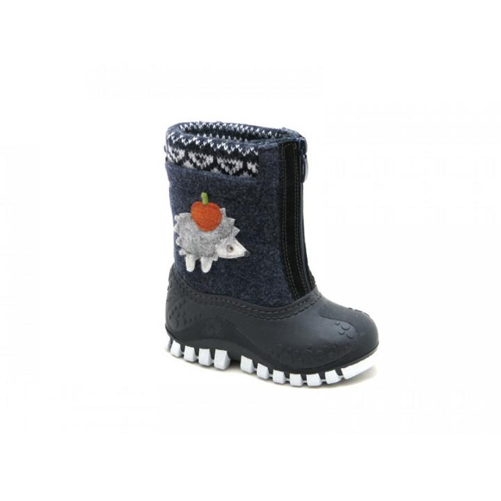 Обувь детская Капика - Валенки-калоши с подкладкой из натуральной шерсти арт. 311861