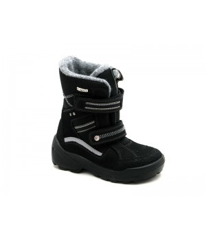 Чорні  мембранні черевики для хлопчика Floare 3902490530 (28-33p.)
