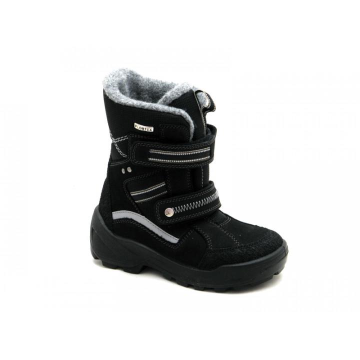 Floare  - Детская обувь | Черные зимние ботинки мембранные для мальчика Floare 3902490530