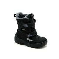 Черные мембранные ботинки для мальчика Floare 3901490530 (28-35р.)