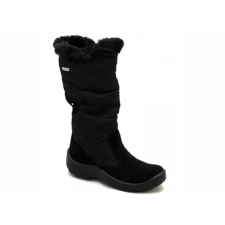 ФЛОАРЕ - Детская обувь | Черные сапоги мембранные для девочки 2443550530