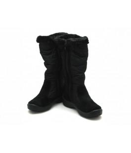 Чорні мембранні чобітки для дівчат  FLOARE 2443550530 (33-37,5р.)