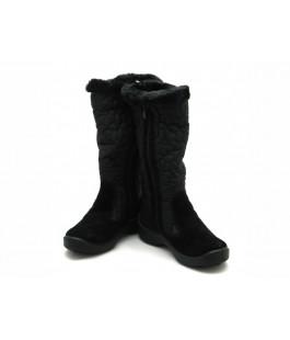 Чорні мембранні чобітки для дівчат  FLOARE 2443560530 (33-37,5р.)