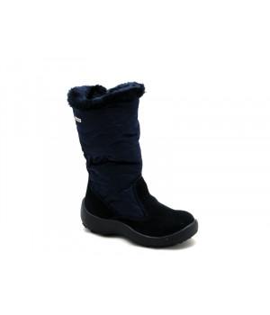 Темно-сині мембранні чобітки для дівчат  FLOARE 2343551830 (27-32р.)
