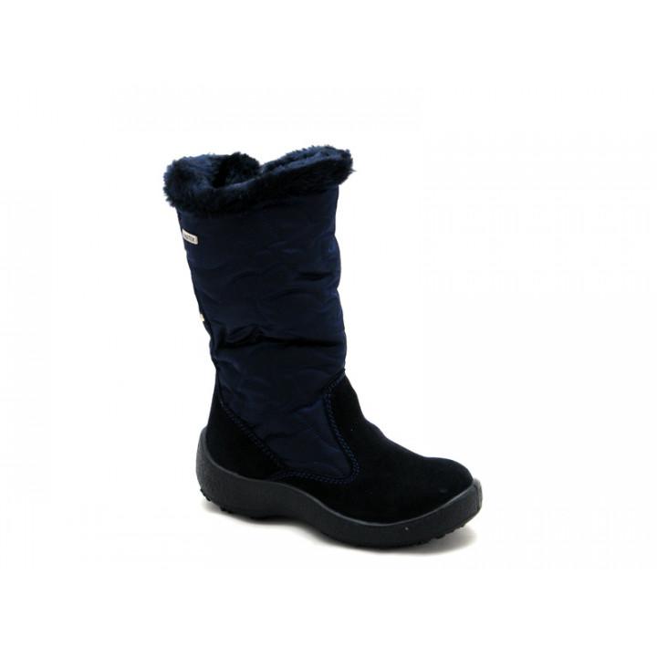 ФЛОАРЕ - Детская обувь | Темно-синие сапожки мембранные для девочки 2343551830
