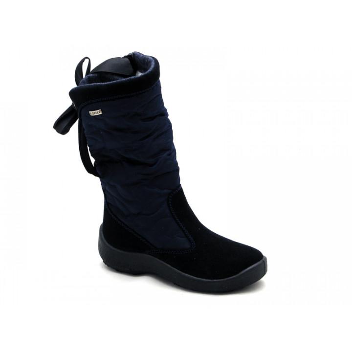 FLOARE - Дитяче взуття | Темно-сині чобітки мембранні для дівчинки 2424551830