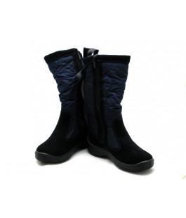Темно-сині мембранні чобітки для дівчат  FLOARE 2424551830 (33-37,5р.)