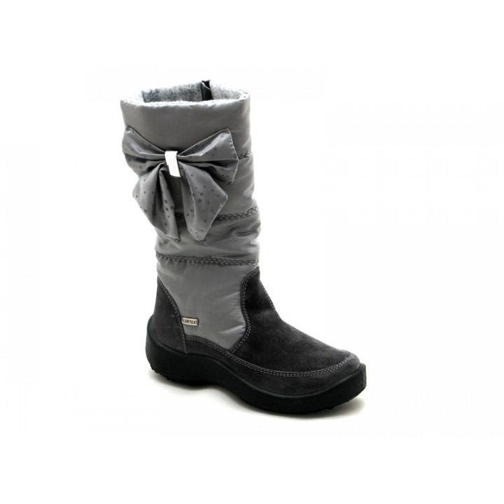 ФЛОАРЕ - Детская обувь | Серые сапоги мембранные для девочки 2456151640