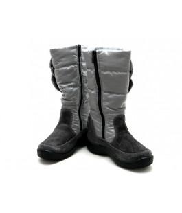 Сірі мембранні чобітки для дівчат  FLOARE 2456151630 (33-37.5р.)