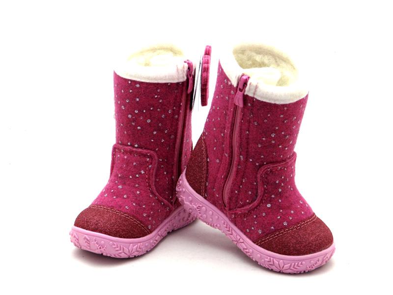 cd324fe1bf7768 Валянки Капіка - дитячі войлочні чобітки FLOARE - купити в Україні - арт.  319660 фуксія