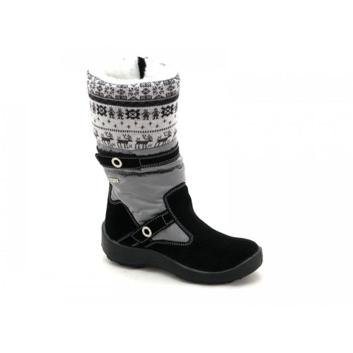 ФЛОАРЕ - Детская обувь | Темно-синие сапожки мембранные для девочки 2323150930