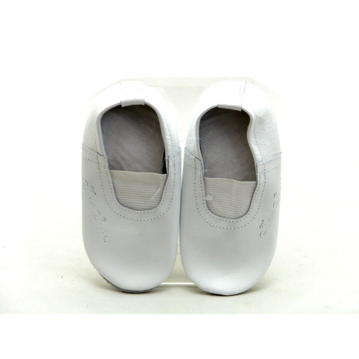Купить детские белые кожаные чешки Ivari-Sports