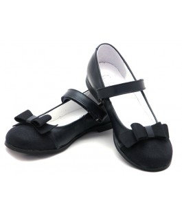 Туфли в школу для девочки Мальвы М321б синий (30-36р.)