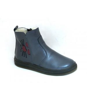Зимові черевики Мальви Ш-433 сірий (31-38р.)