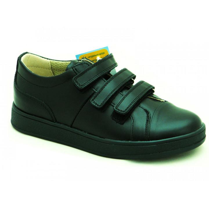ОРТОБІ дитяче ортопедичне взуття - Купити дитячі шкіряні туфлі для хлопчиків ORTHOBE 610H