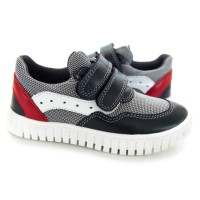 Стильні шкіряні кросівки для дітей Мальви Д461 (20-28р.)