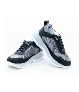 Стильні шкіряні кросівки для дітей Мальви Ш477 (30-39р.)