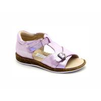 Босоножки розовые кожаные для девочки Palaris 2331 (23-30р.)