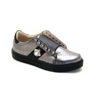 Стильные кроссовки для девочки Palaris 2391 серебро  (32-35р.)