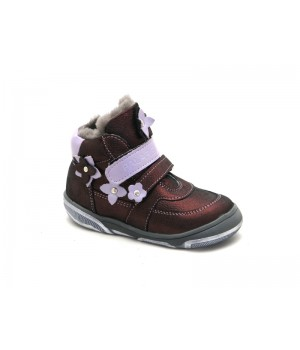 Зимові дитячі черевики для дівчинки Palaris 2285 бордо (24-27р.)
