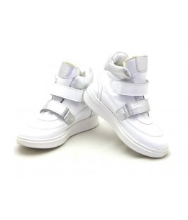 Зимние ботинки для девочек Palaris 2270 белый  (29-35р.)