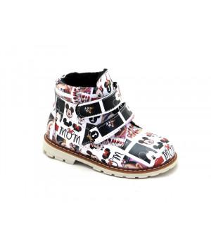 Демісезонні черевички для дівчинки Palaris 2112 (22-27р.)