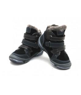 Зимові стильні черевики для хлопчика Palaris 2285 синій (23-27р.)