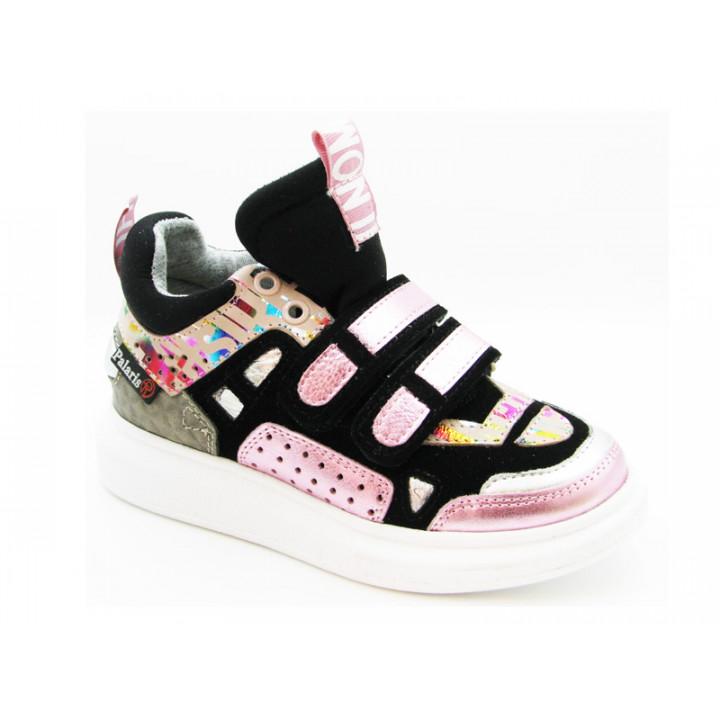 Купить кожаные кроссовки для девочки Palaris 2532