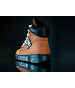 Суперстильні шкіряні демісезонні черевики для підлітків Palaris 2576 (32-39р.)