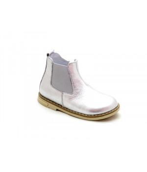 Демисезонные серебристые ботиночки для девочки Palaris 2051-1  (21-25р.)