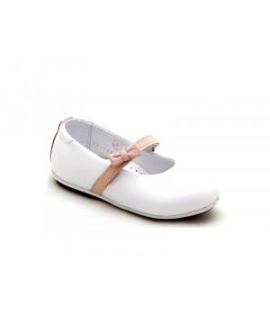Детские белые туфельки для девочки Palaris 1997-1  (21-25р.)